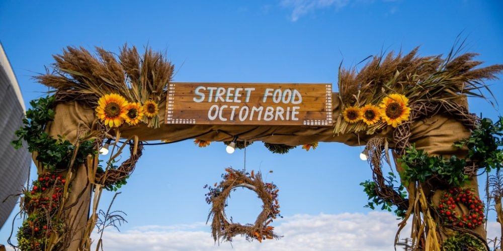 La Cluj a început Street FOOD Festival Octombrie