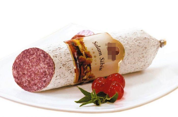 Consumul de salam de Sibiu în România,  este de 4 felii pe cap de locuitor!