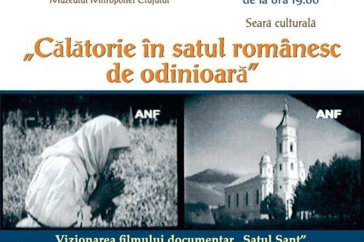 """""""Călătorie în satul românesc de odinioară"""", la Muzeul Mitropoliei Clujului"""