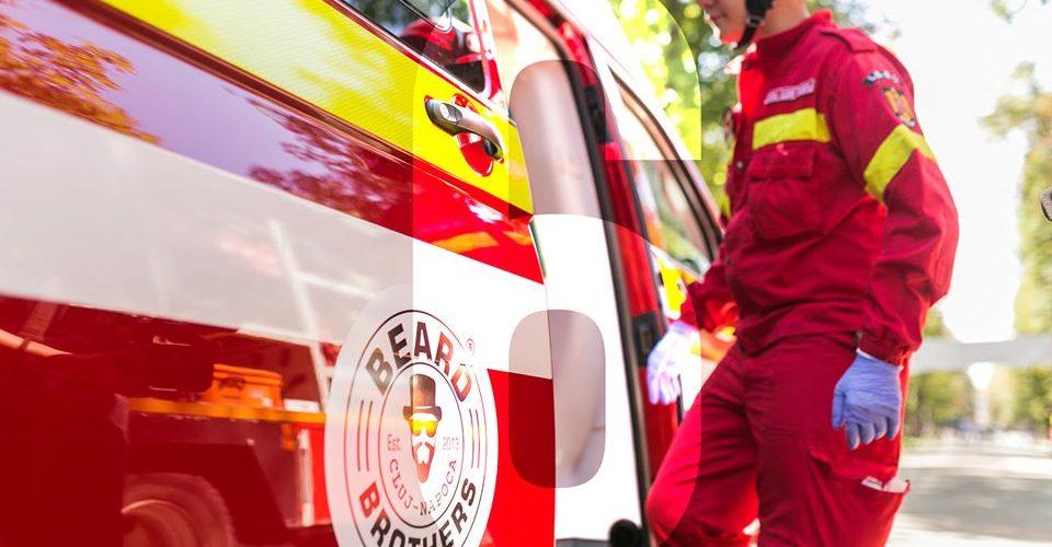"""ISU Cluj mulțumește Asociației """"Beard Brothers"""" pentru ambulanțele donate"""