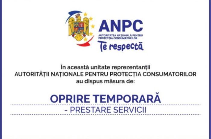 Firmele amendate de ANPC, obligate să afişeze o plachetă în care să precizeze acest lucru