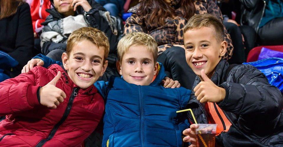 Clubul CFR Cluj continuă campania de atragere a cât mai multor tineri pe stadion
