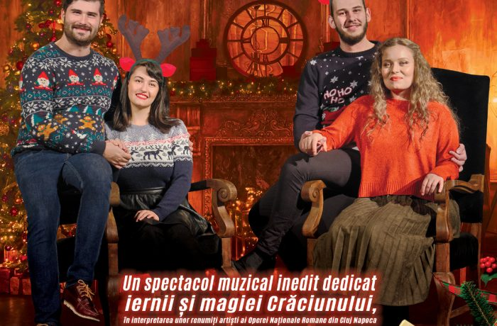 """Concert de colinde ,,Acasă de Crăciun"""", la Dej"""