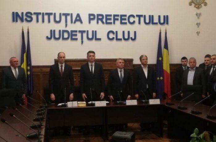 Mircea Abrudean este noul prefect al județului Cluj