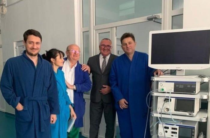 Spitalul din Dej – dotat cu aparat complex de chirurgie laparoscopică