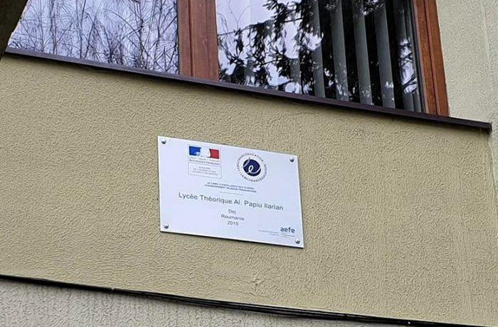 """Recunoaștere internațională pentru Liceul Teoretic """"Alexandru Papiu Ilarian"""" din Dej"""