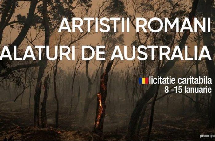 Artiștii români, alături de Australia!