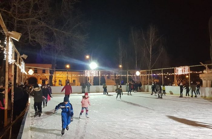 Schimbare de program la patinoar