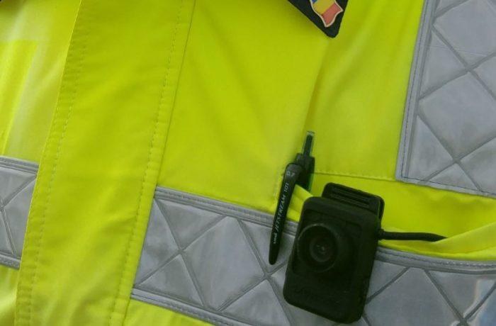 Polițiștii clujeni, dotați cu body cam-uri
