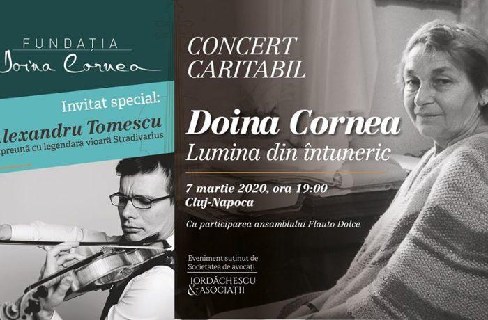 """Concert caritabil """"Lumina din întuneric"""" în memoria Doinei Cornea"""