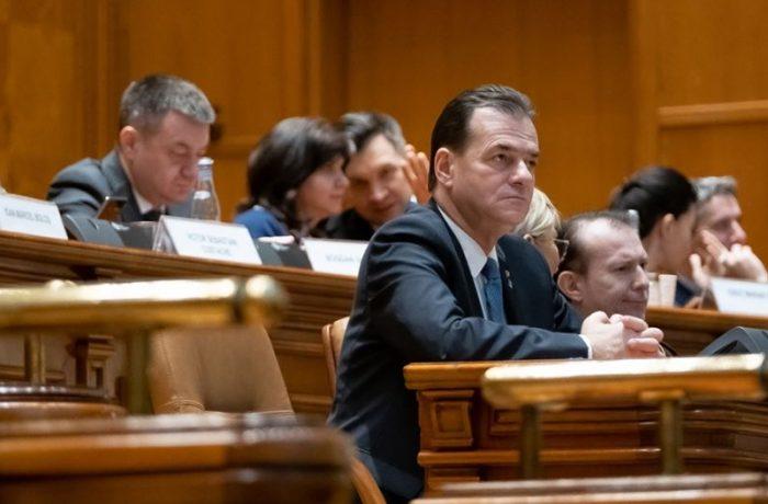 Moțiunea a trecut, Guvernul Orban a picat !