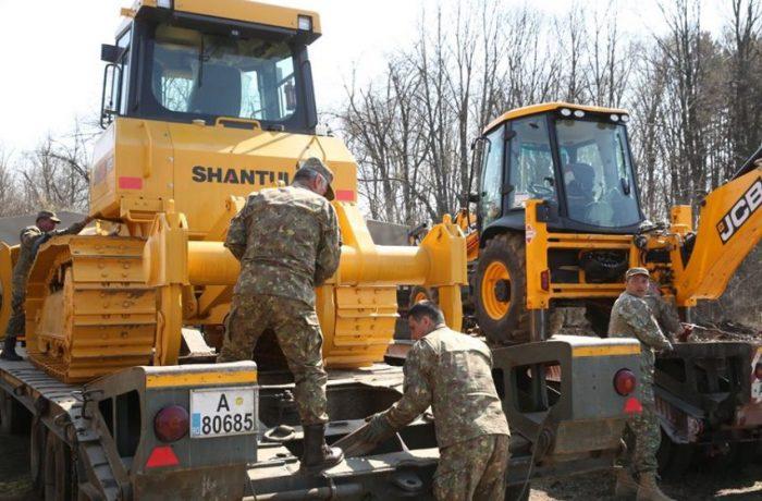 Armata montează un spital COVID-19 în Otopeni, pentru tratarea cazurilor uşoare şi medii de infectare