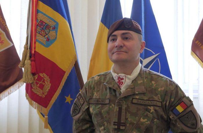 """Un nou comandant pentru """"Dragonii Transilvani"""""""