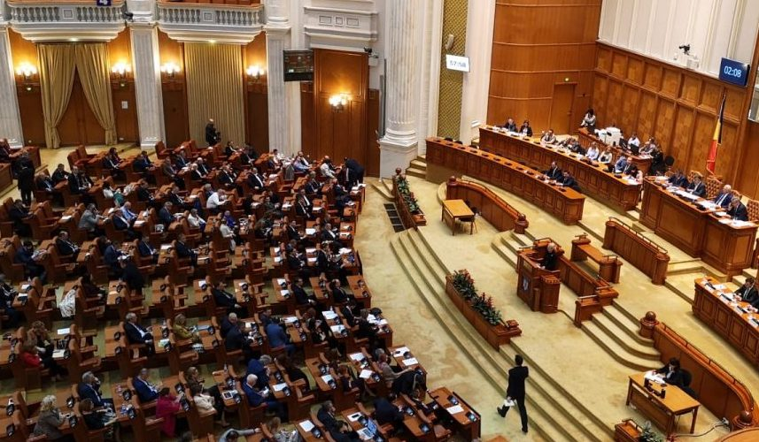 Parlamentul României își suspendă activitatea pentru o săptămână, cu posibilitatea de prelungire