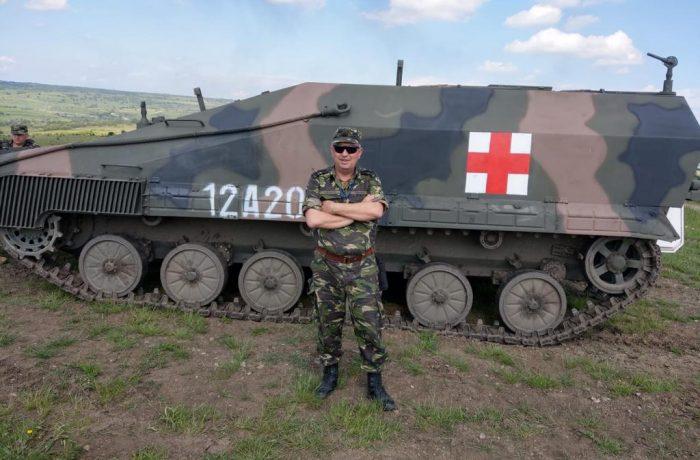Un dejean va face parte din echipa de medici militari care au fost numiți în conducerea spitalului județean din Suceava