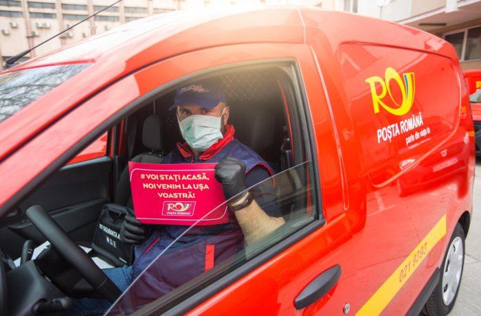 Poșta Română a început distribuirea pensiilor