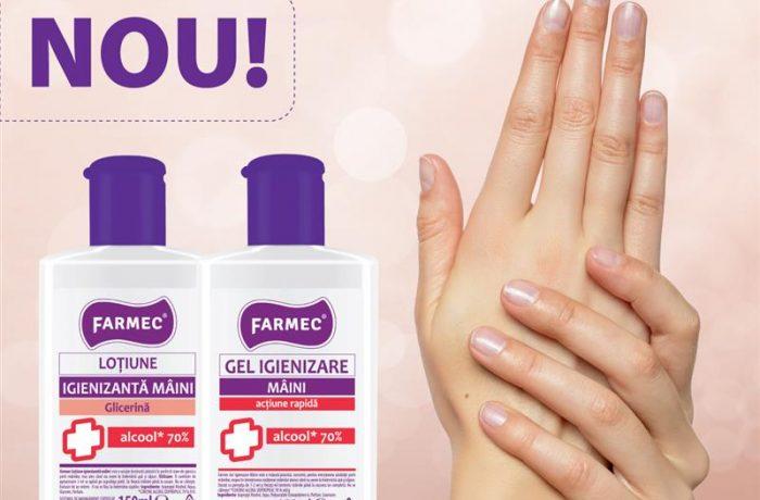 """""""Farmec"""" Cluj a început producția de biocide"""