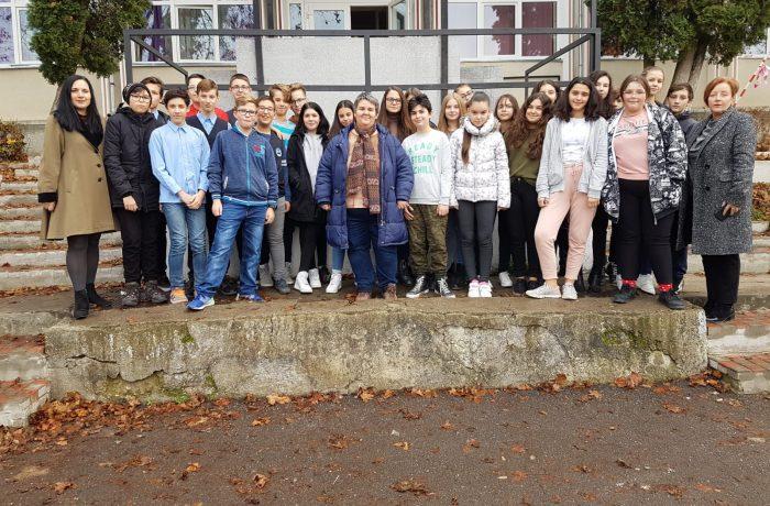 "Proiect internațional eTwinning la Școala ""Avram Iancu"""