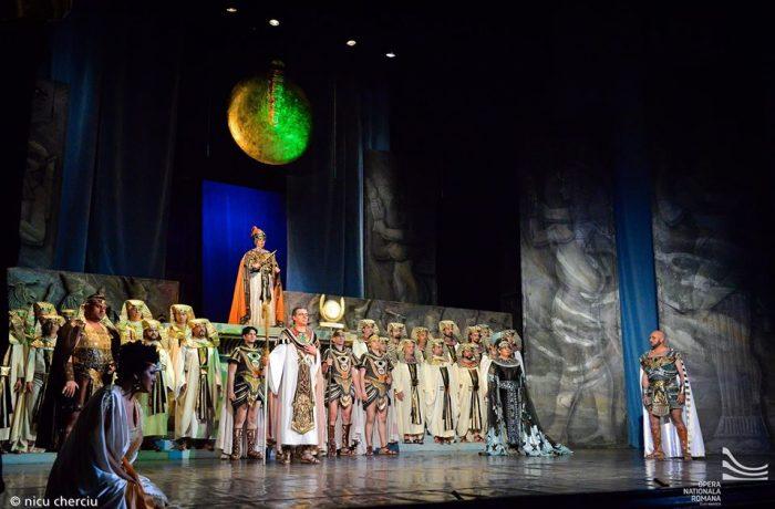 AIDA, spectacol aniversar online, la Opera Națională Română din Cluj-Napoca