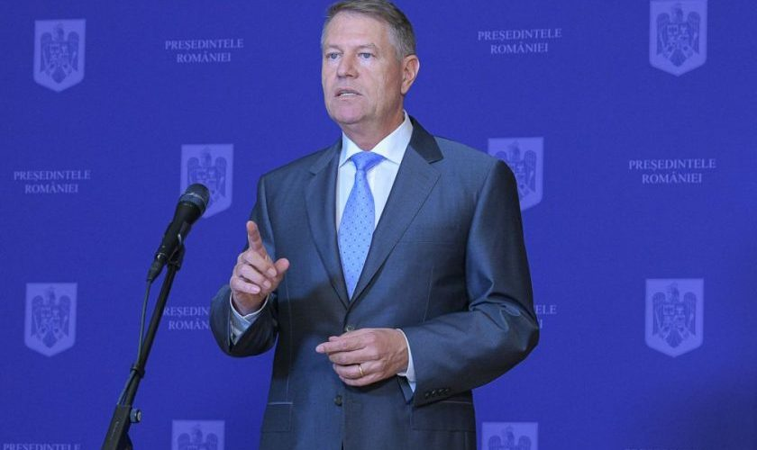 """Președintele Iohannis amenință cu starea de urgență, ca ultimă soluție """"pentru o Românie normală""""!"""