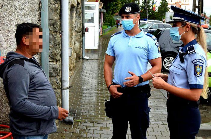 Acțiuni cu efective mărite în județul Cluj în vederea prevenirii și limitării infectării cu virusul COVID-19