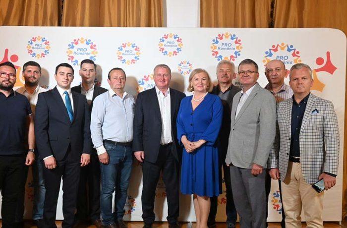 Candidații Pro România pentru primăriile din mediul urban, din județul Cluj, au fost validați