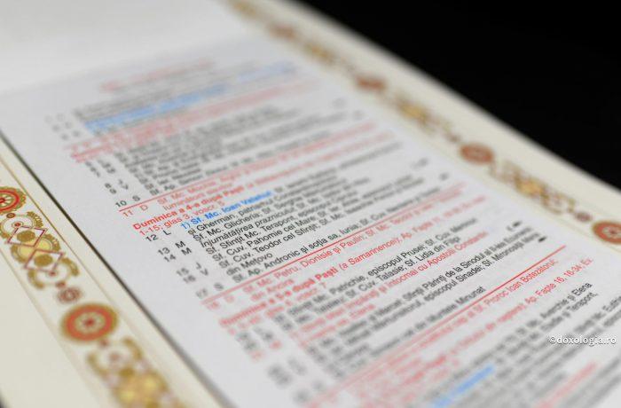 Noi sărbători în calendarul bisericesc, de anul viitor
