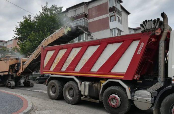 Circulație restricționată, din nou, pe strada Unirii