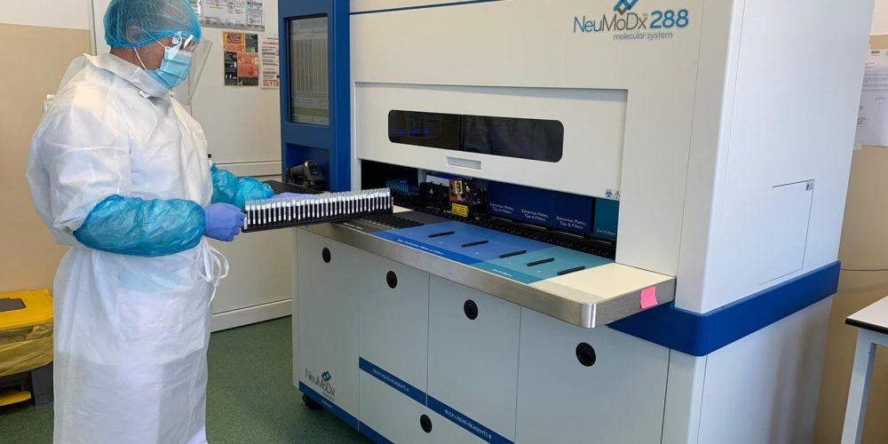 Noi echipamente de testare COVID-19 la Spitalul de Boli Infecțioase din Cluj-Napoca