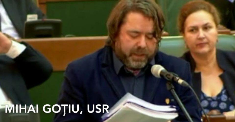 Senatorul USR Mihai Goțiu candidează pentru Consiliul Județean Cluj