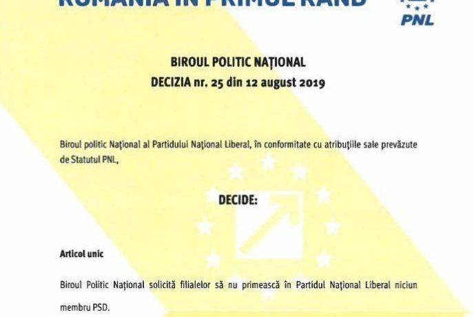 """Alexandru Cordoș: """"PNL a ridicat traseismul politic la rang de valoare liberală """""""