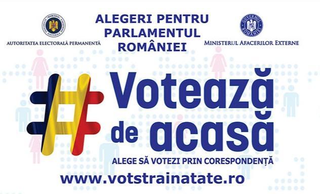 Peste 20.000 de români din străinătate s-au înscris pentru votul prin corespondenţă