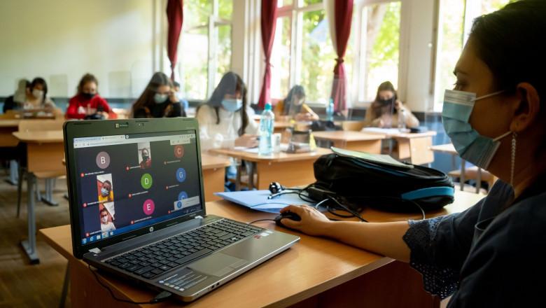 Învățământul online prelungit până pe 8 februarie 2021