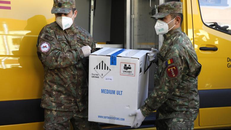 A şaptea tranşă de vaccin Pfizer BioNTech a ajuns în România