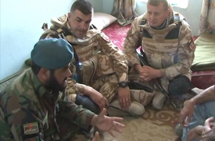 """Corespondență din Afganistan! Protecția forței, principala misiune a """"Dragonilor Transilvani"""""""