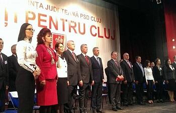 Conferinţa Judeţeană PSD Cluj: Cornel Itu reconfirmat preşedinte executiv