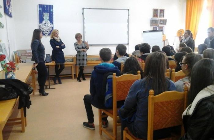 Reuniune SNAC la Şcoala Gimnazială Specială Dej