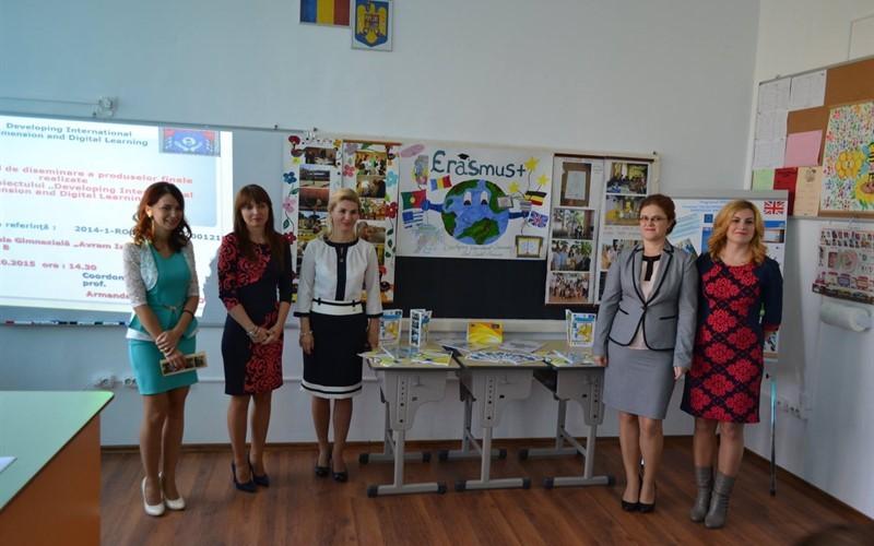"""Proiect Erasmus, finalizat la Şcoala """"Avram Iancu"""""""