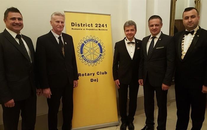 Excelenţa premiată de Rotary Club Dej