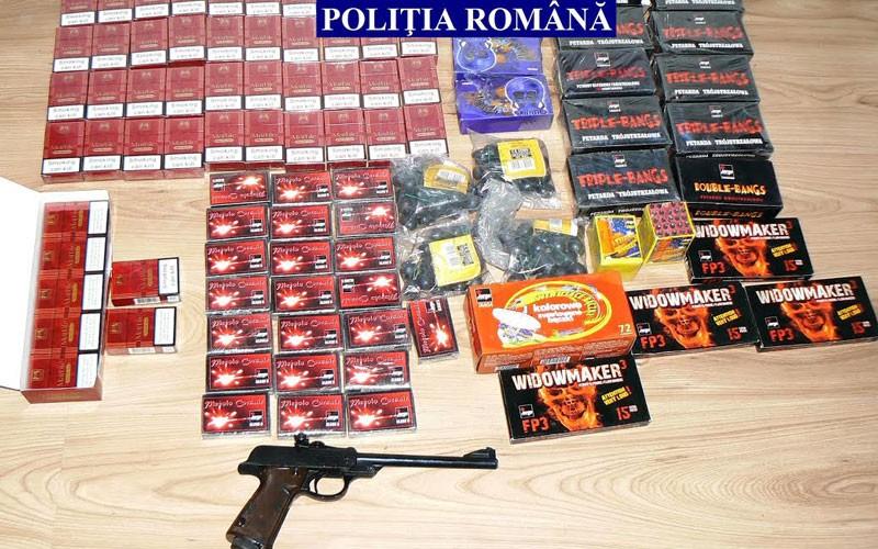 Comercianţii de artificii, verificaţi de Poliţie