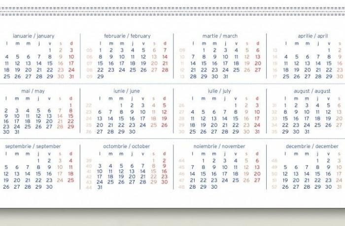Vom avea cu o zi liberă în minus, în 2016