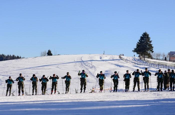 Competiţiile aplicativ-militare de iarnă, etapa pe Forţele Terestre