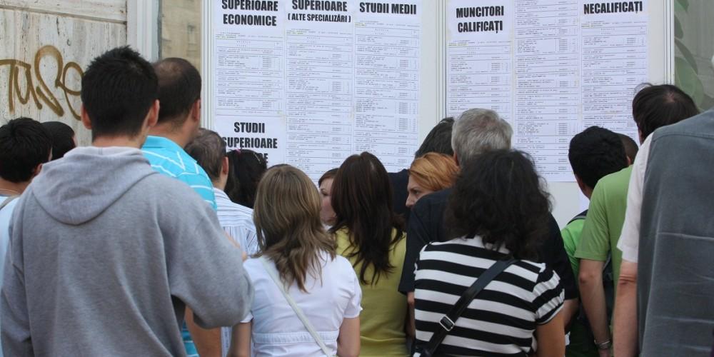 Locuri de muncă puține, în Cluj