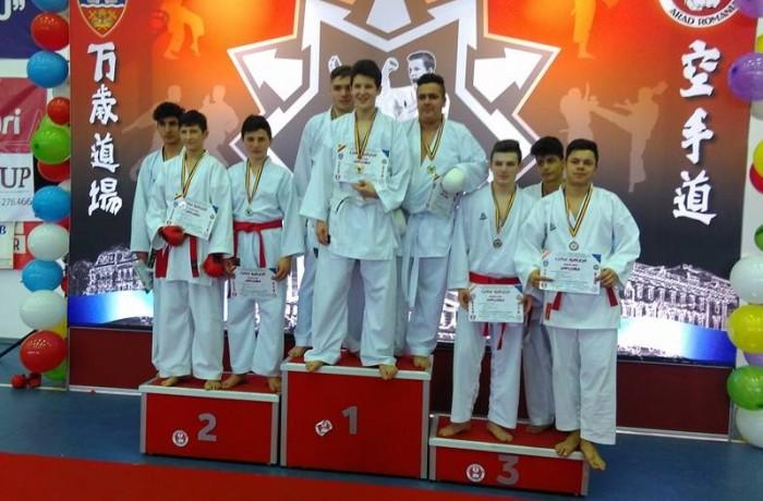 Trei noi medalii de aur pentru CS Budokan Ryu