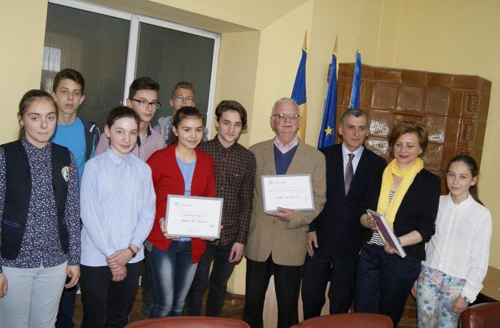"""""""Arlechinii francofoni"""", s-au întâlnit cu primarul orașului"""