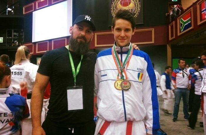 Dorin Pănescu, dublu Campion Mondial la karate