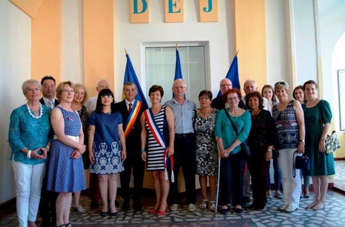 Prietenii francezi din Le Quesnoy, în vizită la Dej