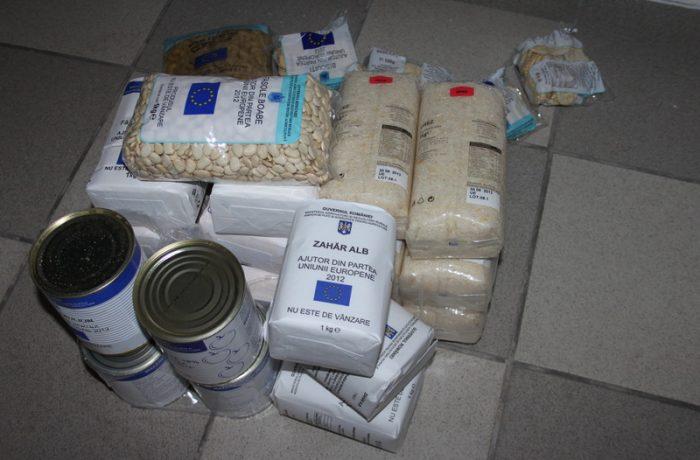 Primăria Dej distribuie ajutoarele de la Uniunea Europeană