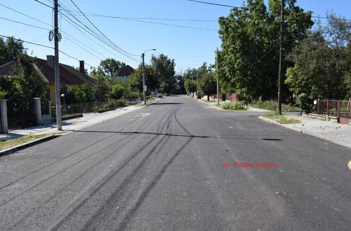 Proiectul de modernizare a 25 de străzi, aproape de finalizare