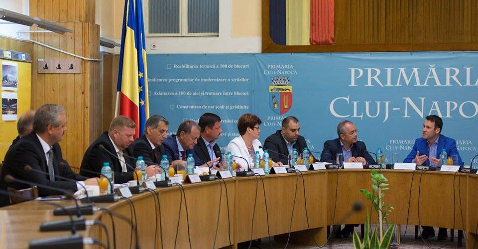 Primarul Costan Morar, prezent la întâlnirea Asociaţiei Municipiilor din România